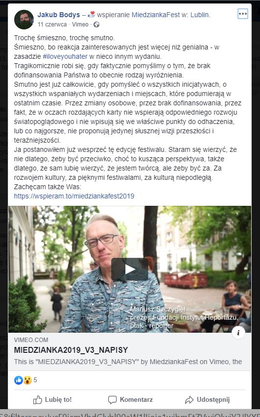 Miedzianka Fest - zbiórka na wspieram.to
