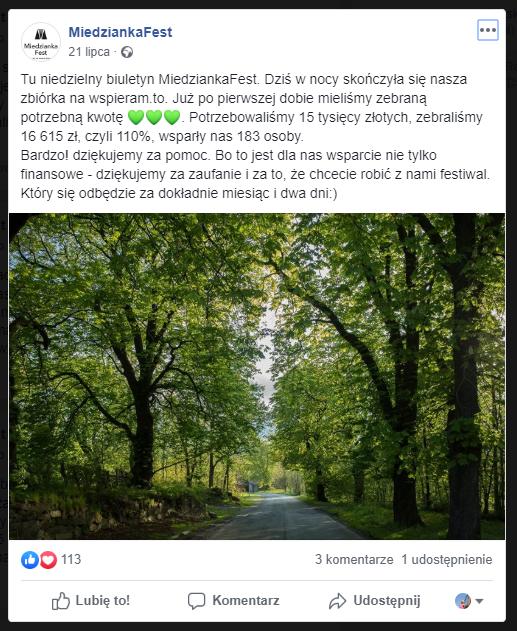 Miedzianka Fest - zbiórka na wspiera.to